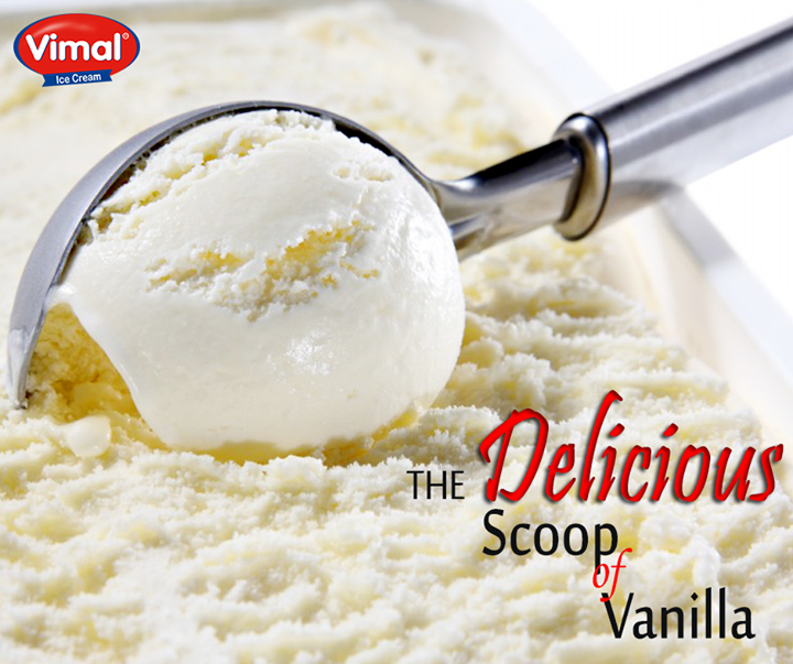 Happiness is simplicity with a vanilla Scoop of #icecream dripping down your hand on a summer evening!   #VanillaScoop #Summers #IcecreamLovers #VimalIcecream #Ahmedabad