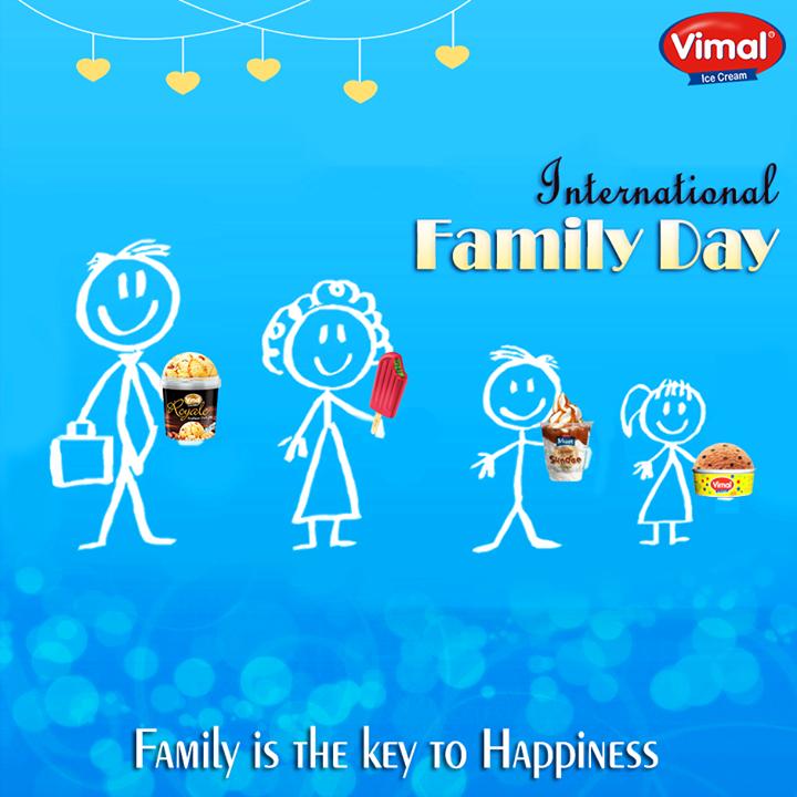 The joy of sharing #icecream with #Family is the best thing to do on a #SummeryEvening!   #InternationalFamilyDay #VimalIceCream