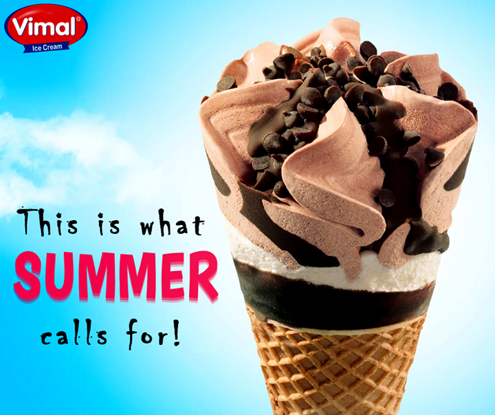 Vimal Ice Cream,  SummerBlues?, Summers, BeattheHeat, ChocolateIcecream, IcecreamLovers, VimalIcecream, Ahmedabad