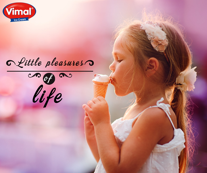 Allow yourself to relish the simple pleasures of life with sweet treats from Vimal Ice Cream!   #IcecreamLovers #VimalIcecream #Ahmedabad