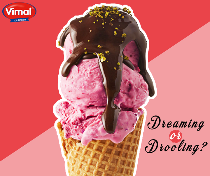Here's something to dream about on a scorching hot summer evening!  #Summers #Icecreams #IcecreamLovers #VimalIcecream #Ahmedabad