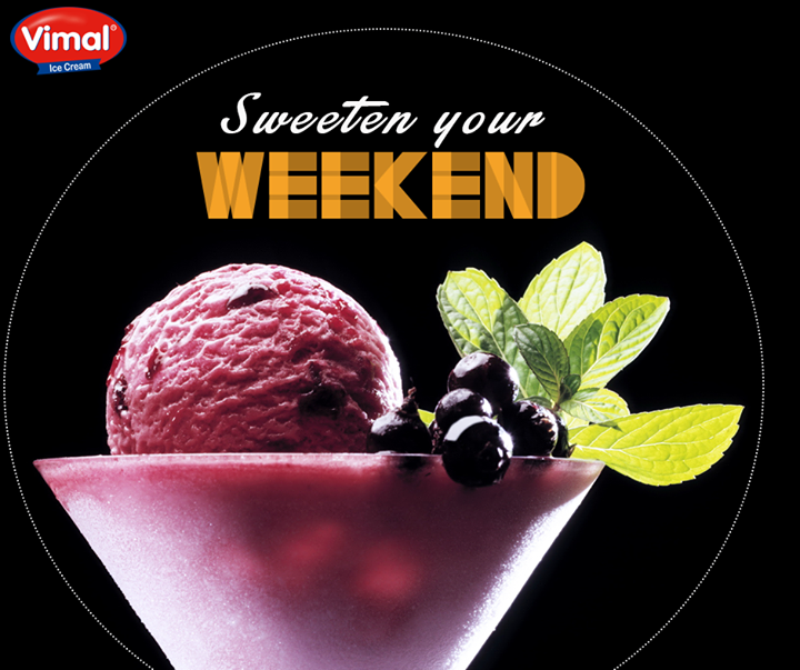 Cool yourself with the exotic fruit indulgence and start your weekend fresh.  #WeekendIndulgence #IcecreamLovers #VimalIcecream #Ahmedabad