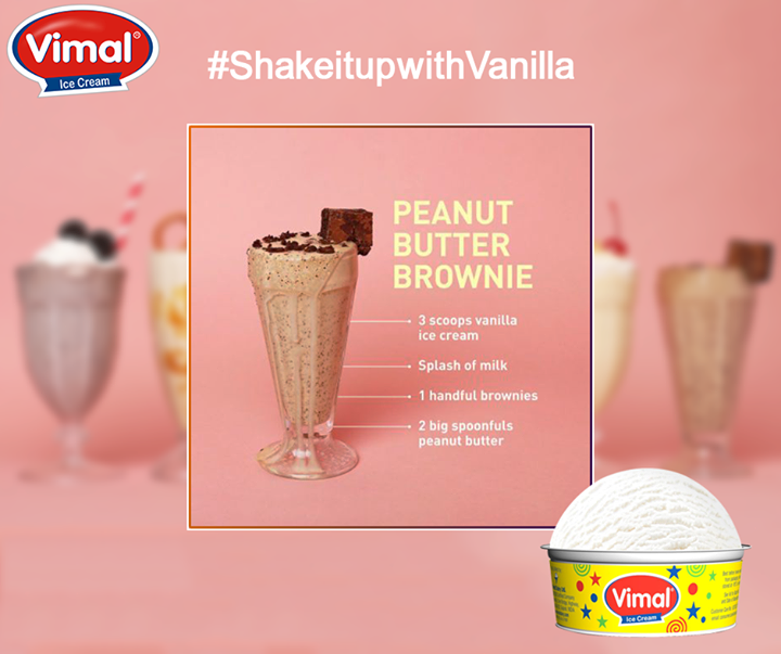 #Vanilla is the king of ice cream flavors. And so here we bring to you all-star, easy-to-follow old Time Vanilla Ice Cream minimal ingredient milkshake recipes which are show-stopping, drool-inducing tall glass of heaven.   Make them and we're sure they'll be just better than the real thing!  #VimalIceCream #Ahmedabad