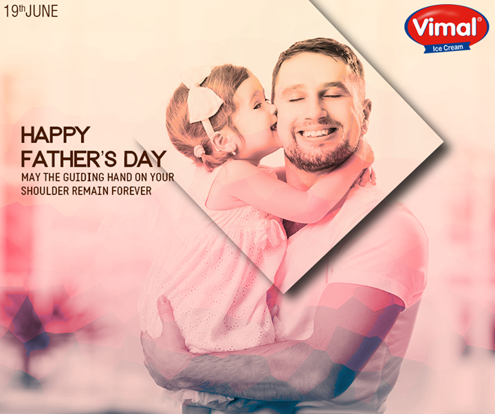 A father is the pillar of strength and fountain of wisdom.  #HappyFathersDay #FathersDay #Father #VimalIceCream #Ahmedabad