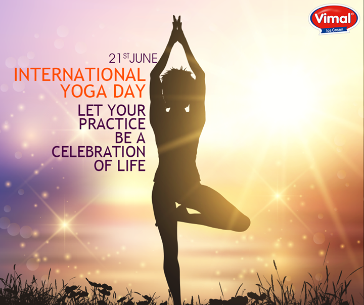 Vimal Ice Cream,  InternationalYogaDay, YogaDay, VimalIceCream