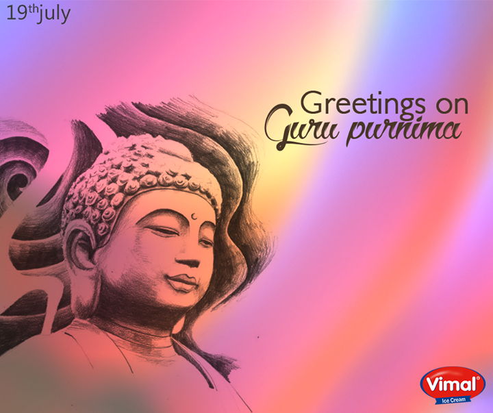 Warm wishes on the pious occasion of #GuruPurnima from Vimal Ice Cream!