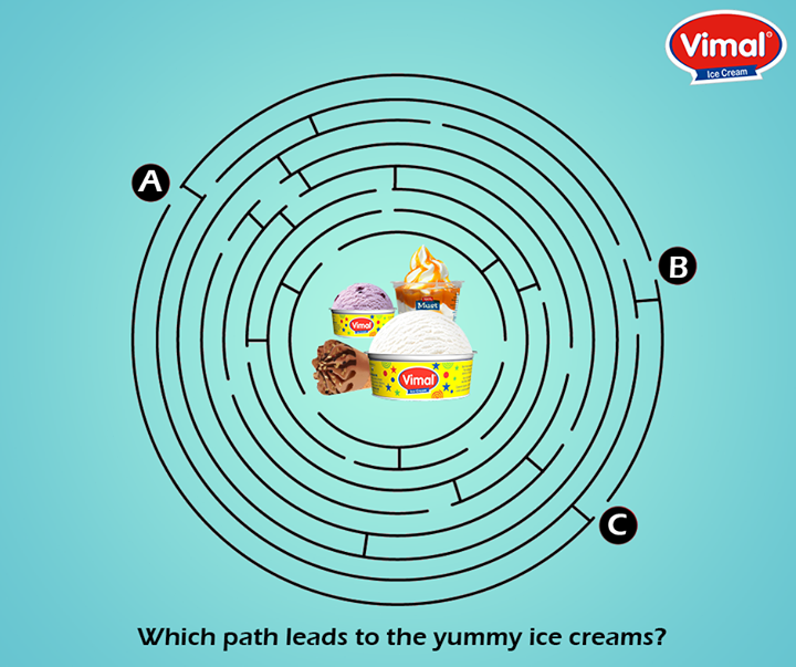 Can you get your way to your favorite lot of deliciousness from Vimal Ice Cream?  #IceCreamLovers #VimalIcecream #Ahmedabad