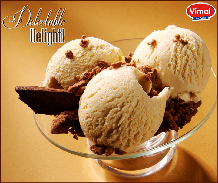 Admit it, we cannot say no to Ice Cream!  #IcecreamLovers #VimalIcecream #Ahmedabad
