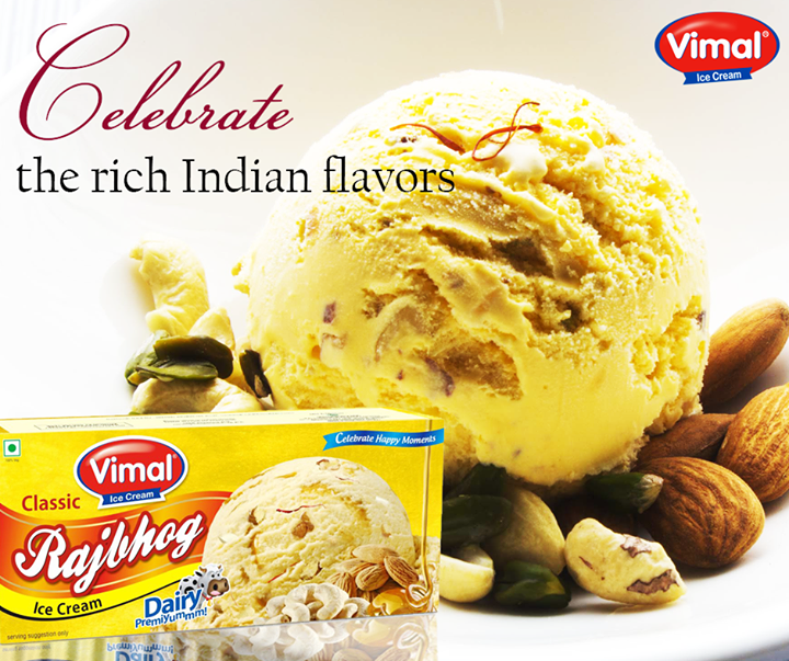 Feast like a king with classic Rajbhog Ice cream.   #VimalIcecream #Ahmedabad