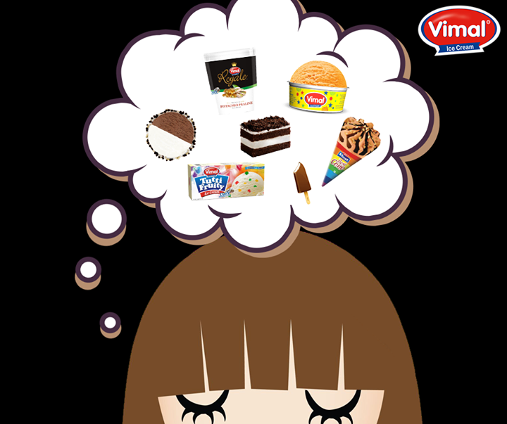 Binge on to every temptations that come to your mind this upcoming weekend.  #VimalIcecream #Ahmedabad