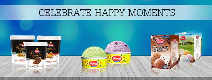 Vimal Ice Cream,  Celebrations, VimalIceCream, IceCreamLovers