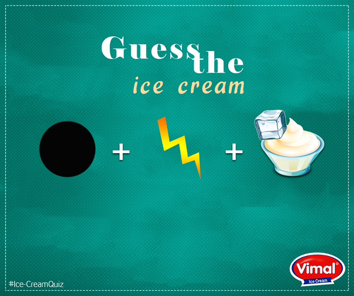Can you guess the flavor?  #IcecreamLovers #VimalIcecream #Ahmedabad