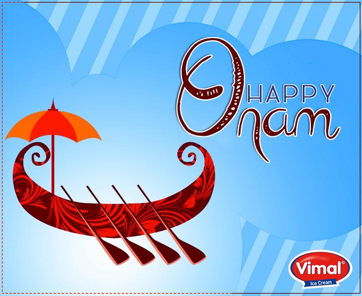 Vimal Ice Cream wishes you all a #HappyOnam!   #IndianFestivals #VimalIceCreams #Celebrations