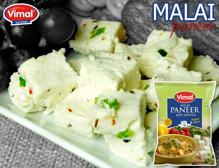 #QuickTip: Thaw Vimal Malai Paneer for 30 minutes before cooking to get the best results!  #Vimal #MalaiPaneer #VimalIcecream #Ahmedabad