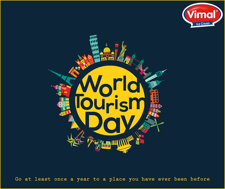 Every hundred feet the world changes!  #WorldTourismDay #Travel #TourismDay #VimalIcecream #Ahmedabad