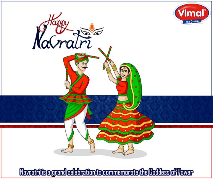 Here's wishing you the best of the #festiveseason!  #HappyNavratri #Ahmedabad #VimalIceCream #IndianFestivals