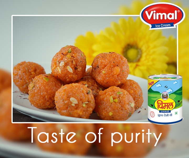 Enjoy the festive season making your favorite sweets with pure #VimalGhee   #VimalIcecream #Ahmedabad
