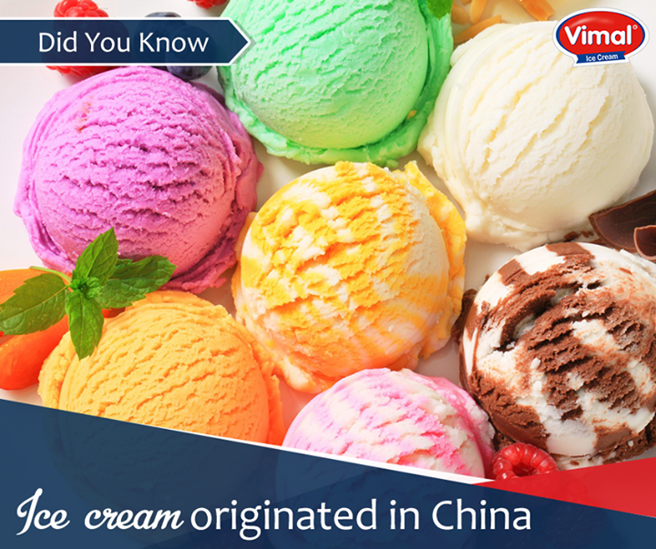 Here's an interesting fact about ice cream, we bet you didn't know   #IcecreamFacts #IcecreamLovers #VimalIcecream #Ahmedabad