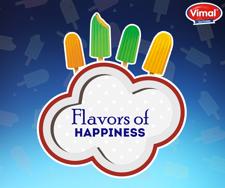 Ooze out your #GoodMood with the delicious flavors of #Happiness from Vimal Ice Cream!  #IcecreamLovers #VimalIcecream #Ahmedabad