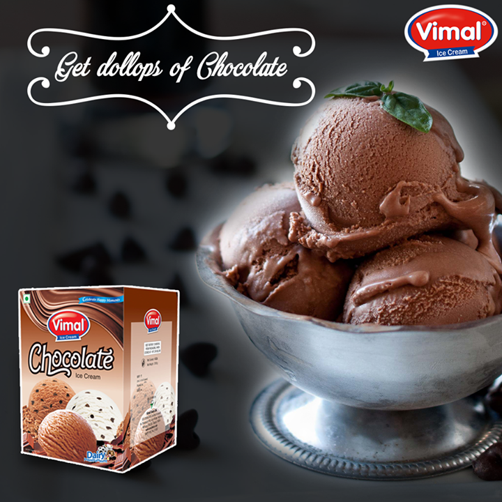 Vimal Ice Cream,  ChocolateIceCream!, Icecream, Flavors, IcecreamLovers, VimalIcecream, Ahmedabad
