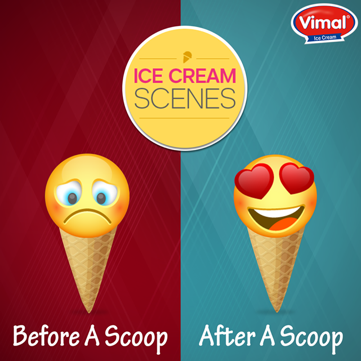 #IceCream owns your mood, especially when it's of Vimal Ice Cream!  #Flavors #IcecreamLovers #VimalIcecream #Ahmedabad