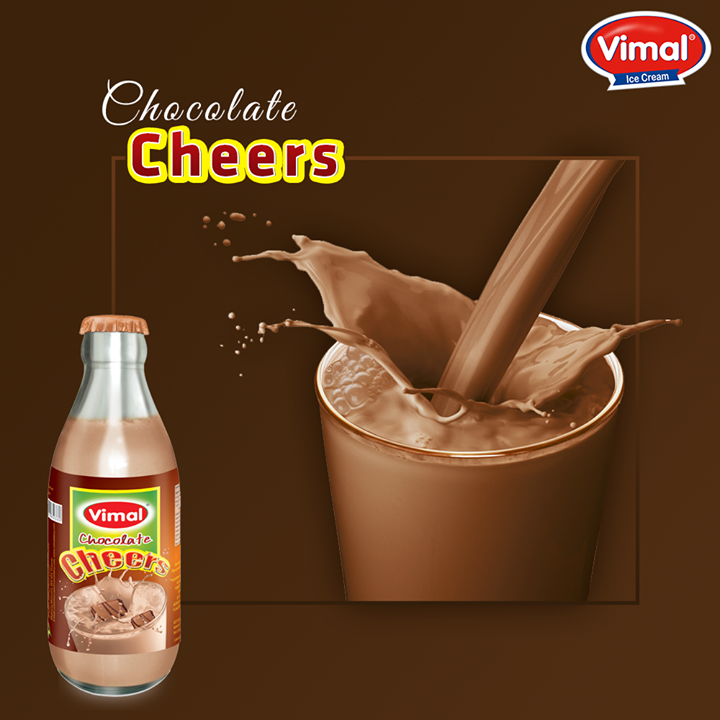 Treat yourself today with our #Chocolate #Milkshake!  #VimalIcecream #Ahmedabad