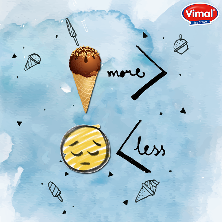 Eat more ice creams and forgets your Monday blues with vimal ice cream.  #QOTD #IcecreamLovers #Eat #Mondayblues #VimalIcecream #Ahmedabad