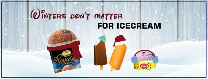 Vimal Ice Cream,  VimalIceCreams, IceCreamLovers, Winters
