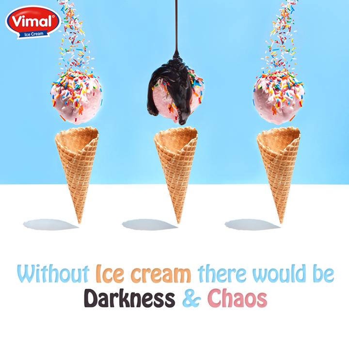 Vimal Ice Cream,  Vimal, IceCream, Darkness, Chaos, IcecreamLovers, VimalIcecream, Ahmedabad