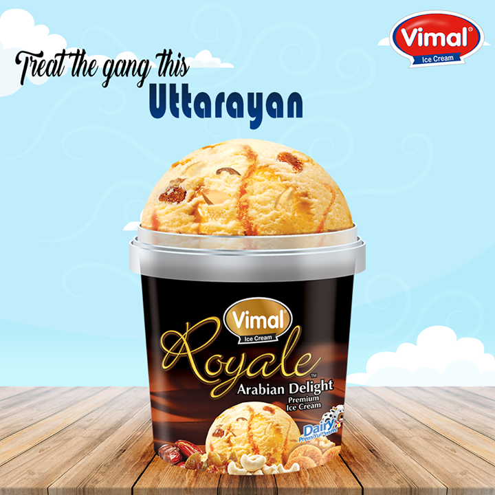 How can any festival be complete without ice creams? Kai po che!  #Uttarayan #IcecreamLovers #VimalIcecream #Ahmedabad