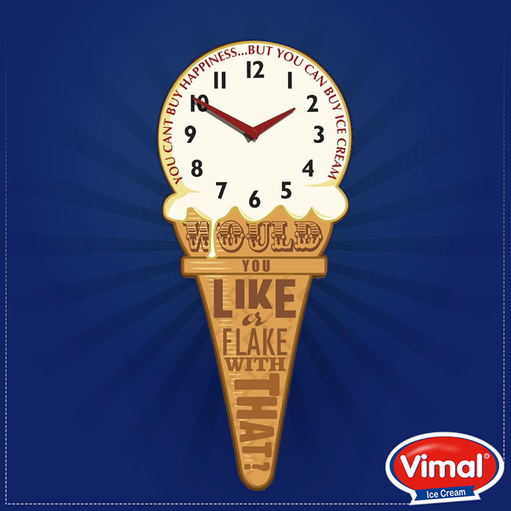 It's always ice cream o'clock somewhere.  #Vimal #IceCream #QOTD #IcecreamLovers #VimalIcecream #Ahmedabad