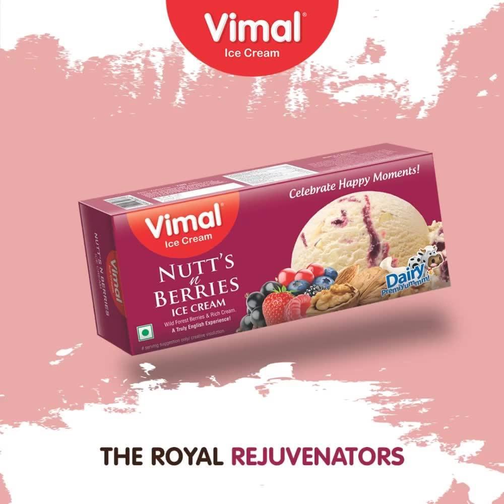 Hail the Royal Rejuvenators. They gonna rule this December!  #VimalIceCream #Icecreamisbae #Happiness #LoveForIcecream #IcecreamTime #IceCreamLovers #FrostyLips #Vimal #IceCream #Ahmedabad