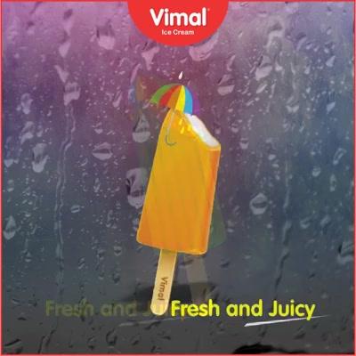 Indulge in the juicy flavors of these candies!   #Monsoon #IcecreamTime #IceCreamLovers #FrostyLips #Vimal #IceCream #VimalIceCream #Ahmedabad