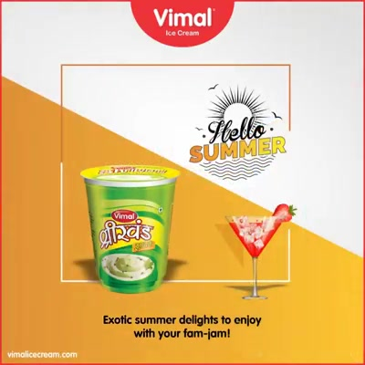 Indulge our exotically designed delights in this scorching summer to chill & relax with your fam-jam!   #Celebrations #Icecream #IcecreamLovers #LoveForIcecream #IcecreamIsBae #Ahmedabad #Gujarat #India #VimalIceCream