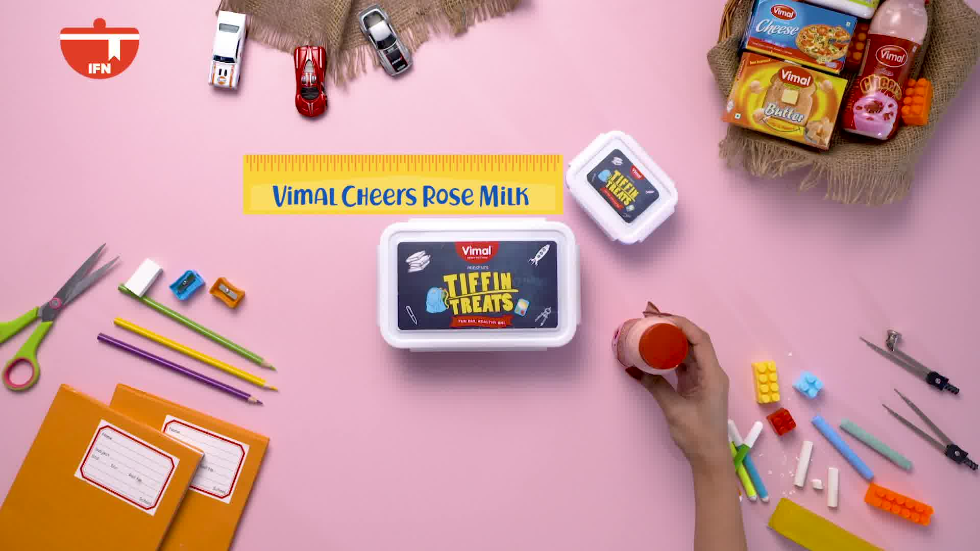 ::Tiffin Treats, Fun bhi, Healthy bhi::  See how beautifully you can do and add wonders to your little one's tiffin by turning the left-over roti into a yummy and delicious Roti Pizza.   P.S. Don't forget to add Vimal cheers rose milk to your little one's tiffin box!   #TiffinTreats #Vimal #IceCream #VimalIceCream #Ahmedabad