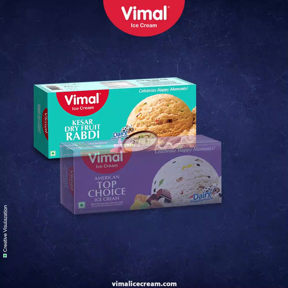 Let your weekend be fun-packed with fun and flavours of ice-cream!  Keep adoring your love for family and ice-cream with us.   #FunFlavours #FamilyPacks #CoolnessMantra #VimalIceCream #IceCreamLovers #Vimal #IceCream #Ahmedabad #HappyWeekend